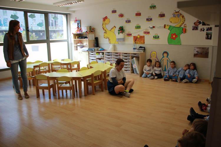 Instituto Inter- Visita a la Escuela Infantil 1nicial