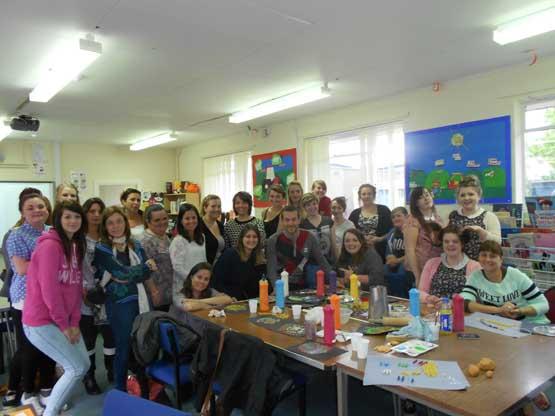 visitando una Escuela Infantil