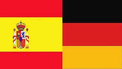 banderas alemania espagna