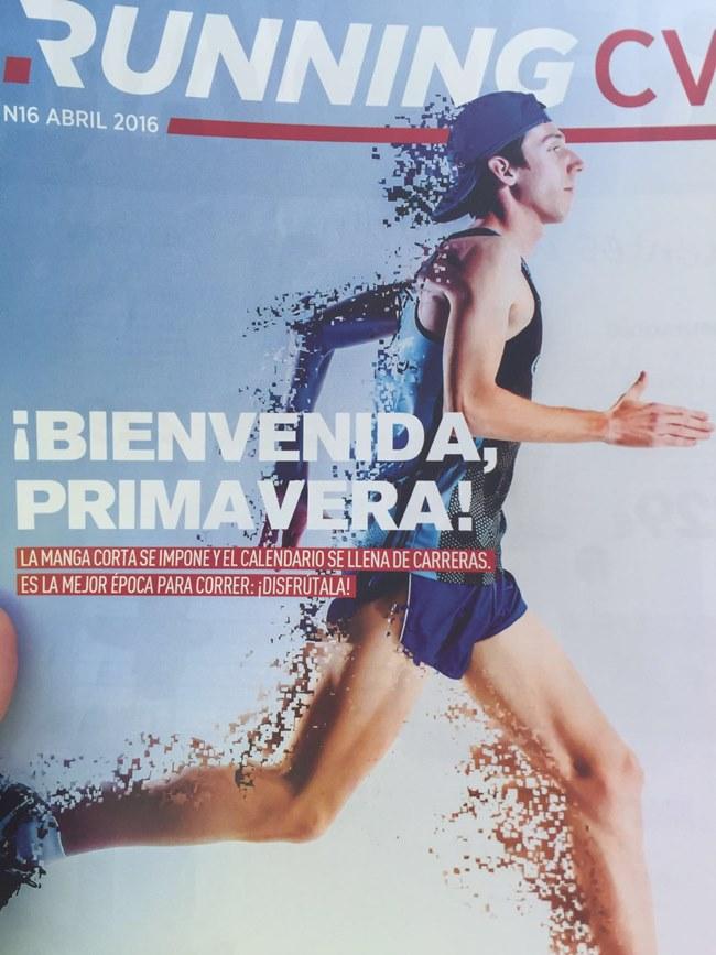 Portada revista Running Valencoa