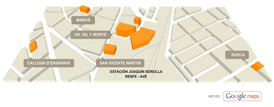 Localización Instituto Inter