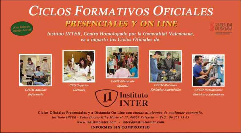Ciclos Formativos Oficiales
