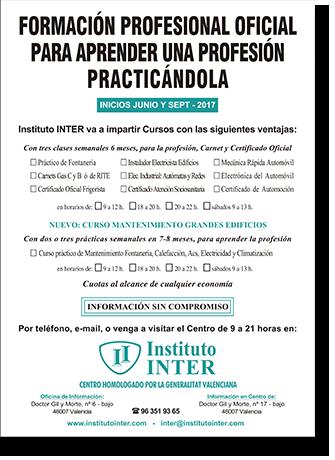Flyer publicitario Inst. INTER