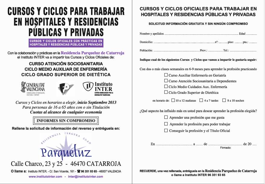 Parqueluz -CATARROJA