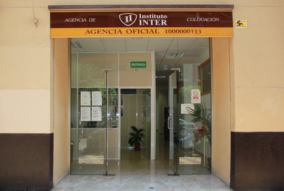 puerta agencia colocación