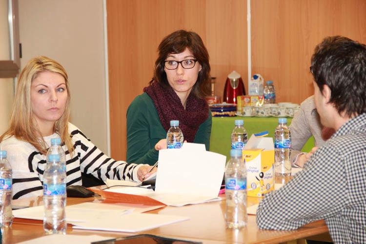 Instituto Inter- Jornadas de trabajo y puesta en común