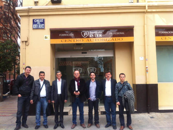 Instituto Inter - Nos visita delegación turca