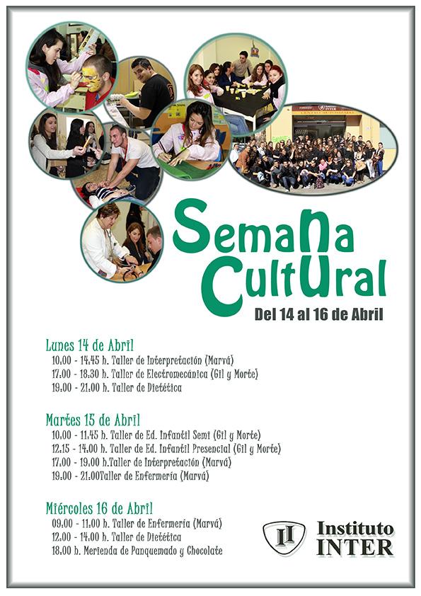 Semana Cultural en Instituto Inter