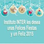 Postal Feliz Navidad 2014 Instituto Inter