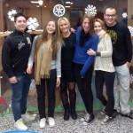Alumnos de Enfermería con Becas Erasmus