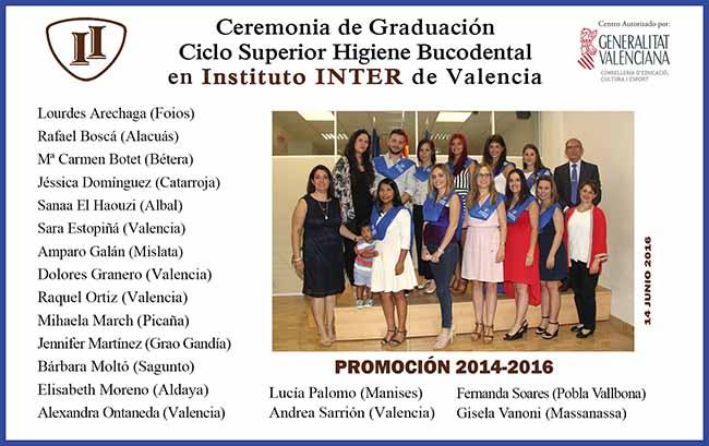 Instituo Inter en Graduación Bucodental Presencial