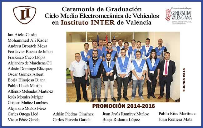 Graduación alumnos Mecánica Semi