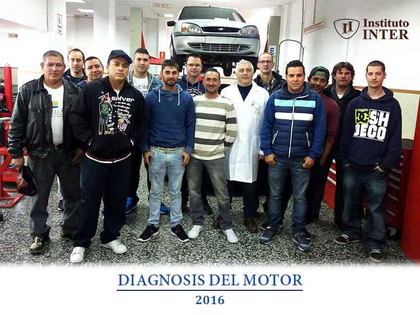 Graduación Alumnos Inter Diaganosis del Motor