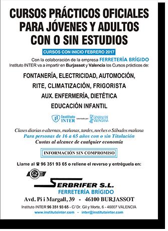 Folleto Publicitario INTER Ferretería Brígido