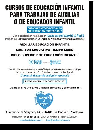 Folleto Publicitario INTER Mami's Papi's