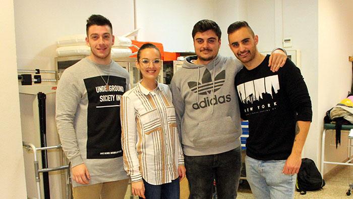 Grupo alumnos Dietética INTER 3