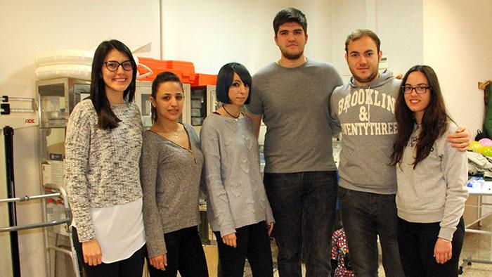 Grupo alumnos Dietética INTER 4