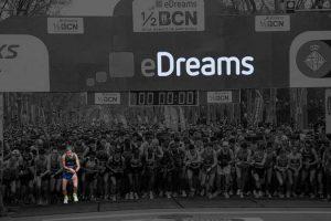 Salida Media Maratón Barcelona 2017