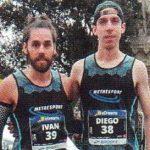 Diego Polo en la Media Maratón de Barcelona