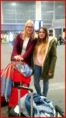Carla García y Carmen Castelo alumnas INTER Erasmus+