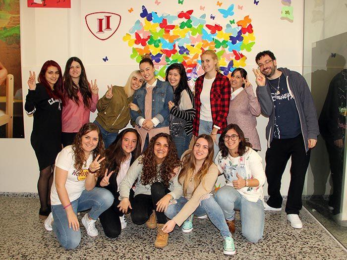 Grupo alumnos 2º Presencial CGS Ed. Infantil