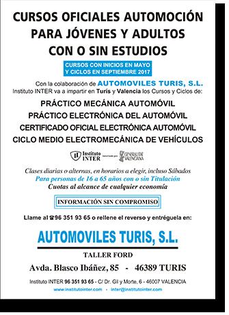 Cursos para personas con o sin estudios - Automóviles Turis