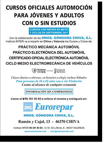 Cursos para personas con o sin estudios - Eurorepar
