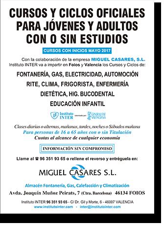 Cursos para personas con o sin estudios - Miguel Casares