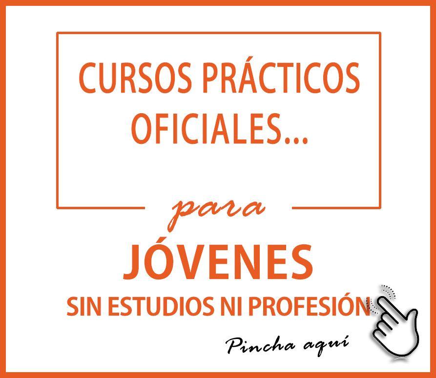 Cartel INTER Cursos Oficiales para jóvenes sin estudios