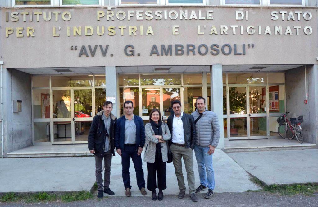 Docentes Mecánica INTER realizan movilidad a Italia