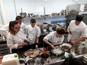 Erasmus+: Elaborando platos típicos fineses