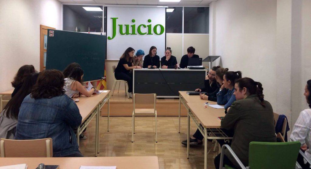 Inst. INTER - Simulación de juicio en clase de Educación Infantil