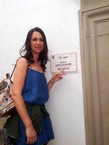 Entrada Aula María Montessori en Città di Castelo