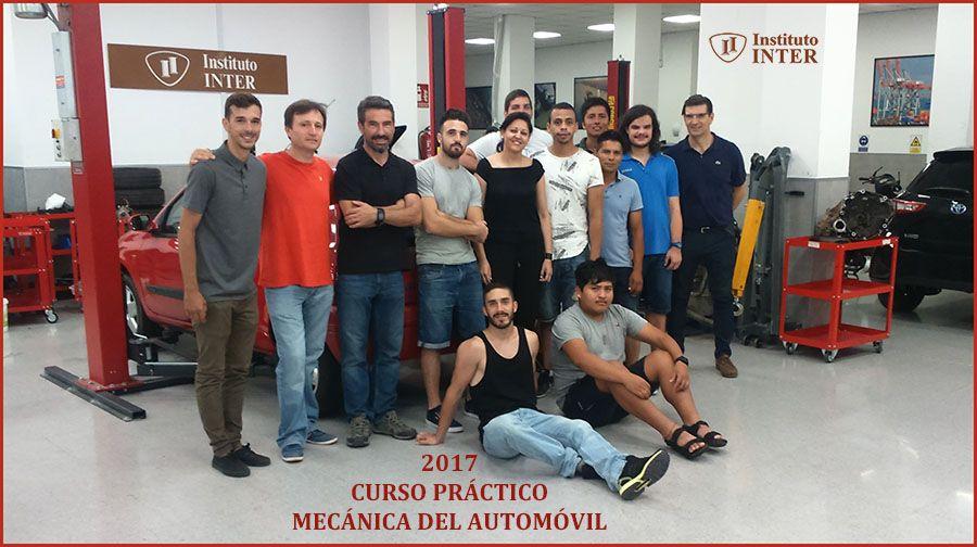 Alumnos INTER de mecánica finalizan curso