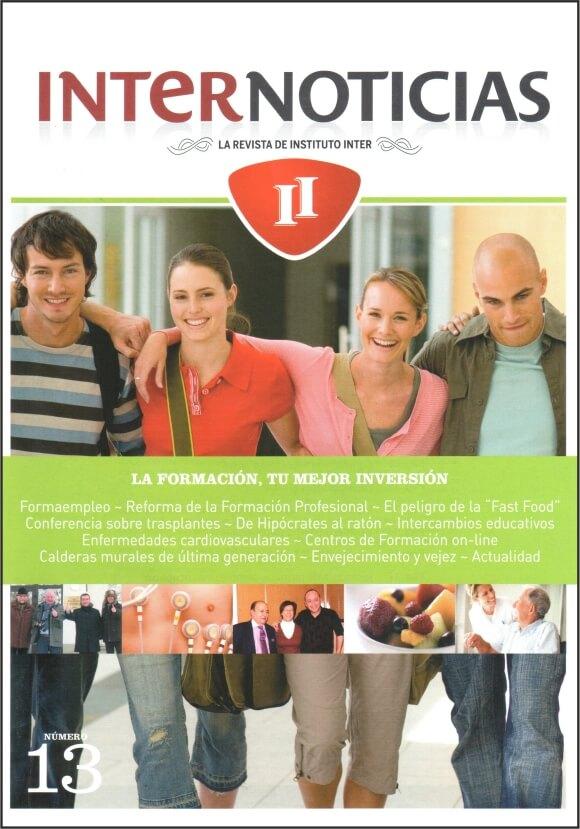 Portada Revista Internoticias nº 13