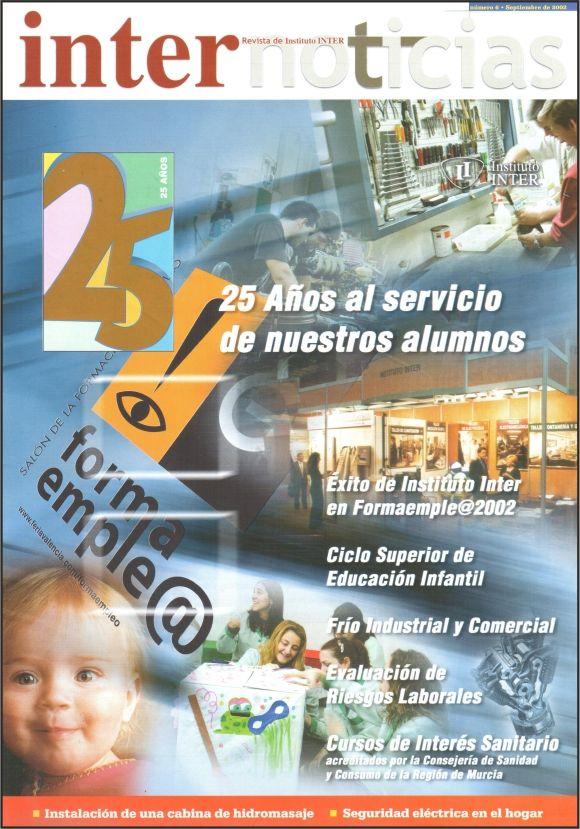 Portada Revista Internoticias nº 6