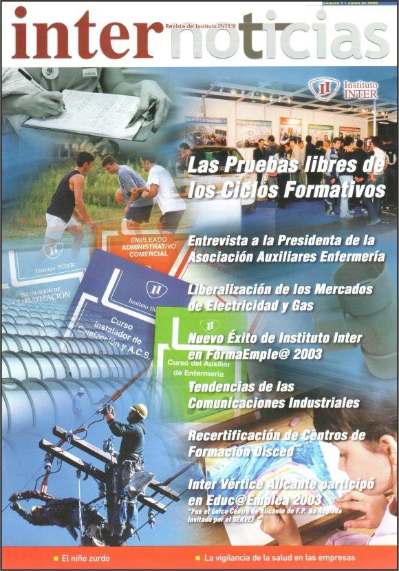 Foto Portada Revista Internoticias nº 7