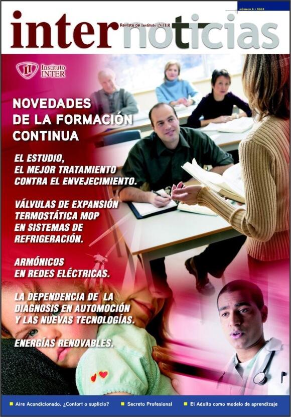 Portada Revista Internoticias nº 8