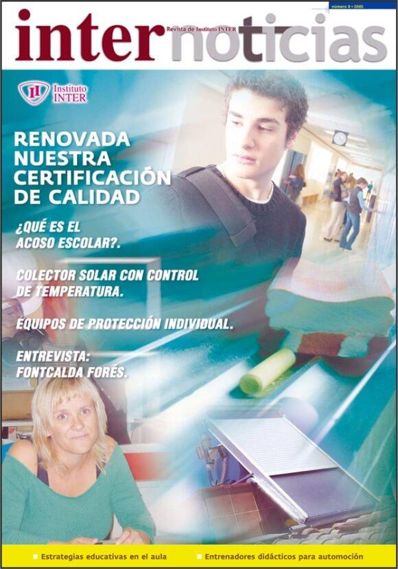 Portada Revista Internoticias nº 9