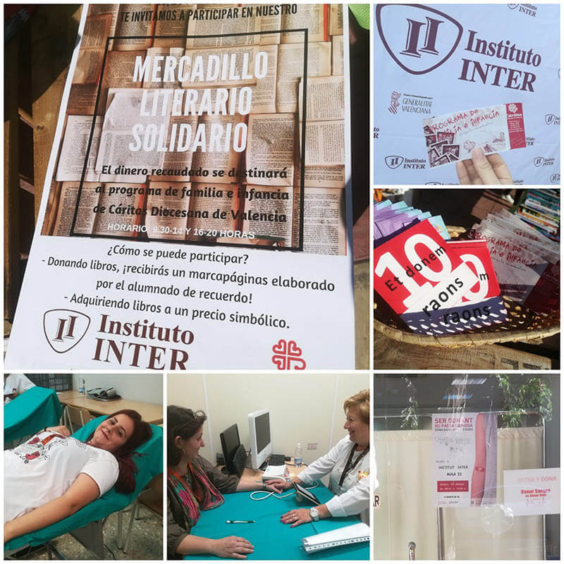Mercadillo Literario Solidario INTER 3
