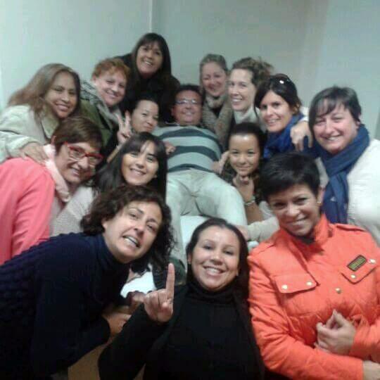 Alumnos CFGM Aux Enfermería de Instituto INTER