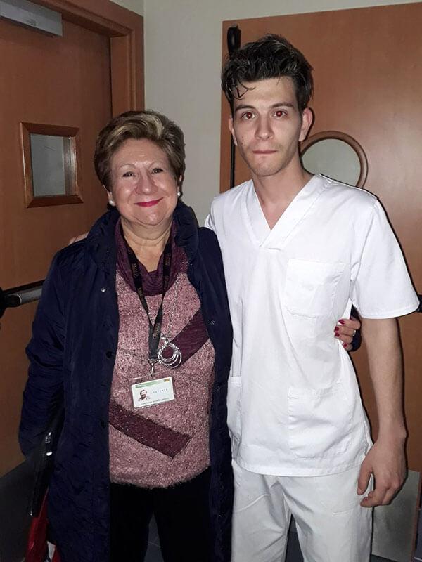 Pablo Rodrigo Simón alumno CFGM Aux. Enfermería Instituto INTER