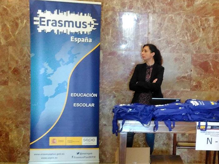 Jornada Erasmus+ en Madrid para centros educativos