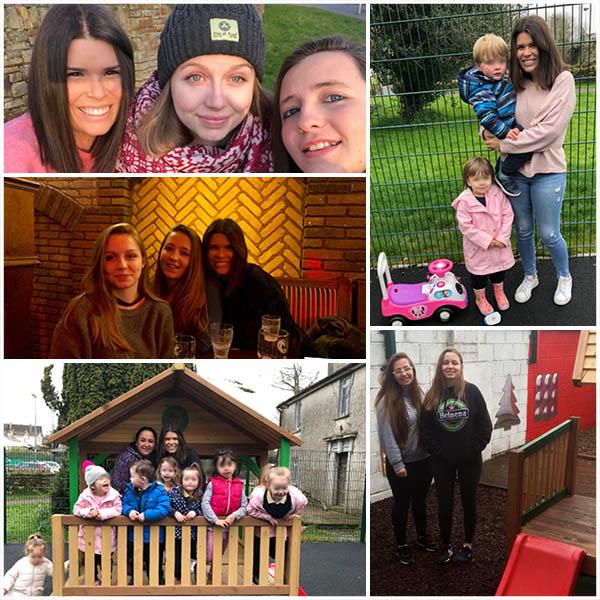 Alumnas CFGS Educación Infantil Insituto INTER en Cork