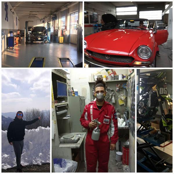 Alumnos de CFGM Electromecánica del Automóvil de Instituto INTER en Codogno
