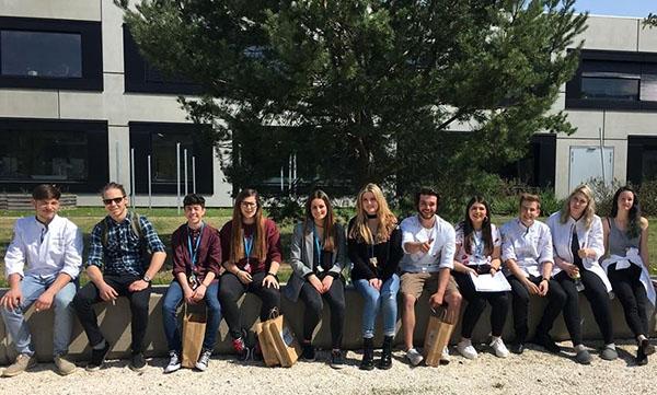 Erasmus+Inst INTER profesores y estudiantes de Austria, Estonia y Finlandia
