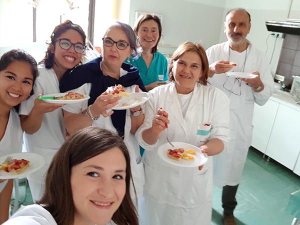 equipo de la unidad de salud bucodental de Campobasso