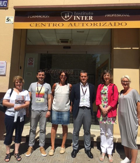 Delegación belga en Instituto INTER