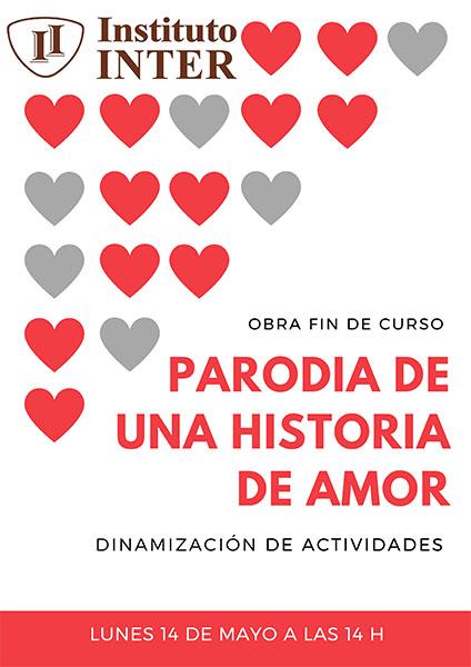 Cartel obra de teatro alumnas Dinamización INTER