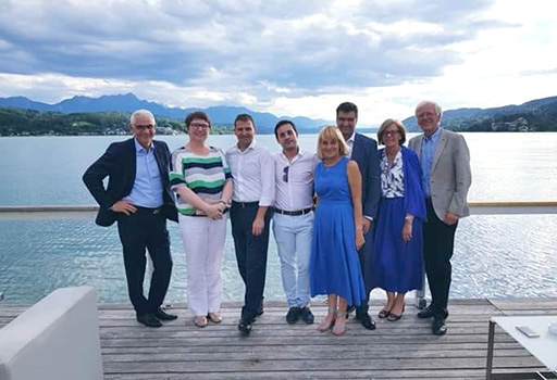 Miembros del proyecto Culin.eu en Austria